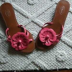 Cute pink slide on by Talbots